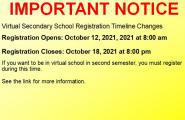 VSS Registration Dates